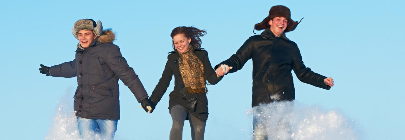 Külm ja lumi ei sega jooksmist!